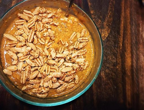 Pumpkin Maple Cinnamon Oats